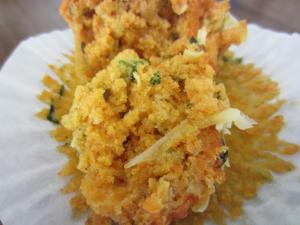Zucchini and carrot muffin