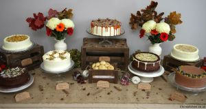 Bespoke range of Indian Inspired Cakes Cake Table