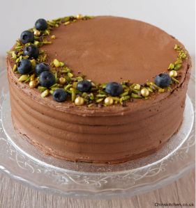 Spiced Coffee and Chocolate Cake: